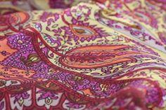 Foulard indien en soie