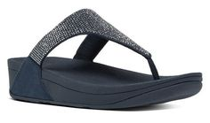 328622a01 FitFlop Slinky Rokkit™ Toe Post Supernavy C65 097