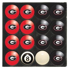 Imperial Officially Licensed NCAA Home vs. Away Billiard Ball Set - IMP 50-40