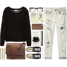 """""""Senza titolo #190"""" by nafte on Polyvore #OOTD"""