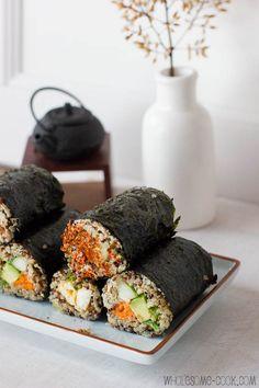 Quinoa Sushi Rolls (2)