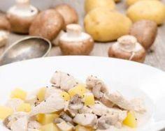 Fricassée de champignons et pommes de terre aux raisins : http://www.fourchette-et-bikini.fr/recettes/recettes-minceur/fricassee-de-champignons-et-pommes-de-terre-aux-raisins.html