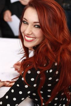 Beautiful bright Rockin red Hair+long #sexy#layered#will be hot in 2016 also. ▪♡❤♡▪