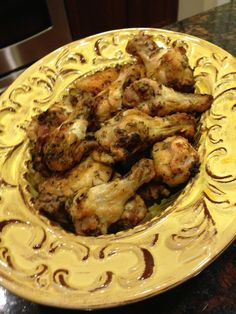 Oven Baked Wings that Feed the Soul!  Super healthy, yummy wings for the Paleo Autoimmune diet!