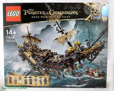 New LEGO sets from Pirates of the Caribbean: Dead Men Tell No Tales now available, including Silent Mary [News]
