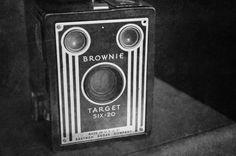 Vintage camera love.