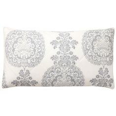 Pottery Barn Lucianna Sham ($60) ❤ liked on Polyvore featuring home, bed & bath, bedding, bed accessories, pottery barn bedding, pottery barn pillow shams, pottery barn shams, damask bedding and pottery barn