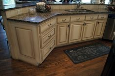 Creative Cabinets and Faux Finishes, LLC (CCFF) - Kitchen Island Picture Gallery