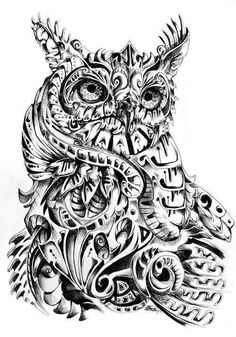Amazing owl piece