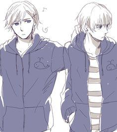 Norway and Iceland bros *_* / Hetalia