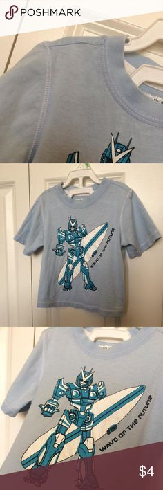 Transformers T-Shirt 18-24 months😀 Light and airy. Gently used, wash wear visible only on the inside label, no stains, no holes, no pilling. Good fit, soft fabric, perfect for summer. Please see pictures. One of our favorites.☘ Clean home, no smoking, no pets. ☘ Old Navy Shirts & Tops