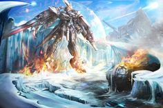 Gundam by Xeikth