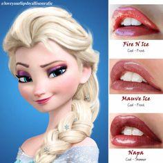 Elsa Frozen LipSense Love Your Lips by Allison Rafie Distributer #328364 http://www.facebook.com/groups/loveyourlipsbyallisonrafie