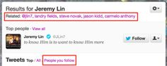 """7.6   Twitter Search Adds """"Search Within People You Follow"""", Autocomplete, RelatedResults"""