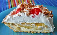Banana Split Pie (4 Points ) | Weight Watchers Recipes
