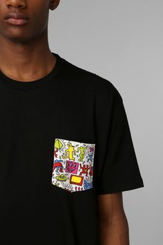 Junk Food Haring Pocket Tee