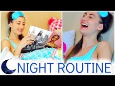 Night Routine For School Video! ☾