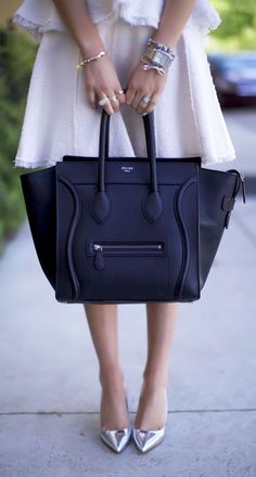 celine. #handbag #black
