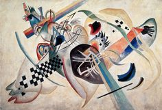 """Wassily Kandinsky - """"Composition #224 (On white)"""", 1920"""