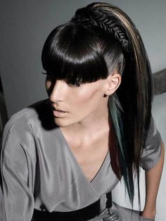 1000 images about black ponytail hairstyles on pinterest