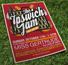 The Ipswich Jam w/ Miss Gertrude Norths, Oct2015