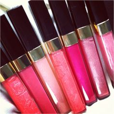 #Chanel lip glosses - Lèvres Scintillantes