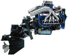 Mercury mercruiser marine engine