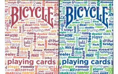 Bicycle Table Talk Playing Cards 2 Deck Set 1 Blue & 1 Red. $8.95. #playingcards #games #magic #poker