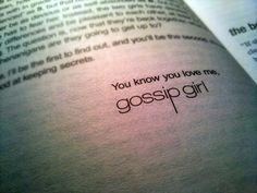 Gossip Girl I am Grace Kelly, Grace Kelly is me.  XOXO