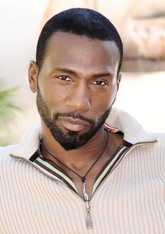 Leon (born Leon Robinson IV), American actor and singer. He received critical… Fine Black Men, Gorgeous Black Men, Handsome Black Men, Fine Men, Beautiful Men, Gorgeous Guys, Beautiful Lips, Handsome Man, Beautiful People