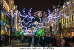Essa foi a decoracao da REGENT STREET em 2014. estava deslumbrante. Christmas UK