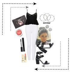 """""""My exact outfit for today (August,2th)"""" by annefoster99 ❤ liked on Polyvore featuring Givenchy, Topshop, Senso, PUR, Giorgio Armani, Clinique, Marc by Marc Jacobs and marcjacobs"""