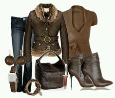 Brown Outfit