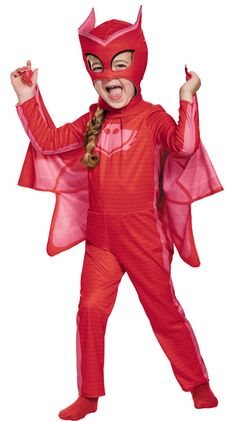 Girl's+PJ+Masks+Owlette+Costume