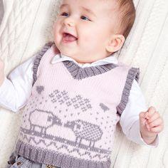 Milly Tank Top : MillaMia Modern Knitting Design