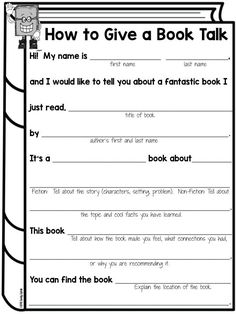 Book Talks for Elementary Kids - Lessons by Sandy Book Talk Library Activities, Reading Activities, Teaching Reading, Learning, Kindergarten Library Lessons, School Library Lessons, First Year Teaching, Guided Reading Groups, Sequencing Activities