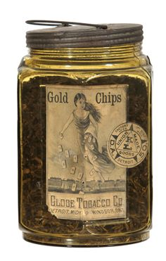 Find the price of your antique tobacco tins, vintage tobacco signs or any product featuring tobacco advertising with descriptions, photos and prices. Candle Jars, Mason Jars, Wooden Cigar Boxes, Tin, Alcohol, Chips, Antiques, Ephemera, Smoking