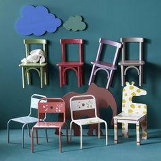 10 petites chaises pour enfants sages