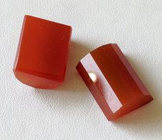 Red Onyx Matched Pairs Red Onyx Faceted Fancy by gemsforjewels
