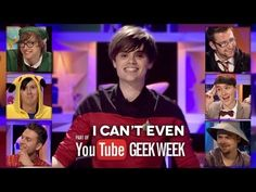 I Can't Even: Geek week Special!<<< this is so funny! Dan and Phil are absolutely hilarious. And the fact that Dan dressed up as the Doctor is even better.