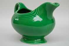 Fiestaware gravy boat- in shamrock, will go with my paprika or peacock dishes.  Great for Christmas.