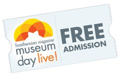 2 FREE Museum Day Admission Tickets