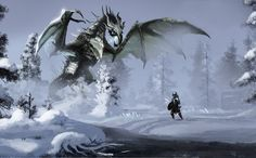 Battle With Fo Dovah by 1Rich1.deviantart.com on @deviantART