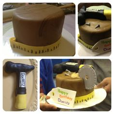 DeWalt tool cake.