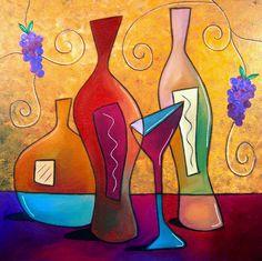 Off The Vine Painting  - Off The Vine Fine Art Print