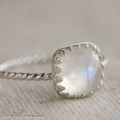 I've decided that whenever the time comes, I want to be proposed to with a moonstone ring, they're just so beautiful.