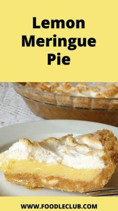 Pie Crust Image, Milktart Recipe, Nice Biscuits, Fluffy Mashed Potatoes, Lemon Uses, How To Cook Mushrooms, Sweet Chilli Sauce, Lemon Meringue Pie, Classic Desserts