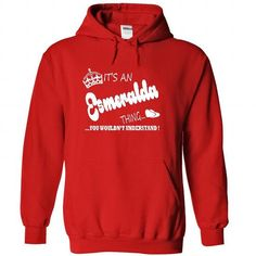 Its an Esmeralda Thing, You Wouldnt Understand !! Name, - #gift box #gift card. LIMITED AVAILABILITY => https://www.sunfrog.com/Names/Its-an-Esmeralda-Thing-You-Wouldnt-Understand-Name-Hoodie-t-shirt-hoodies-9803-Red-22059324-Hoodie.html?68278