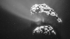 La misión Rosetta descubre oxígeno puro en un cometa