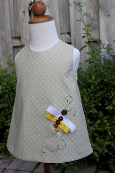 great embellishment on a basic tunic